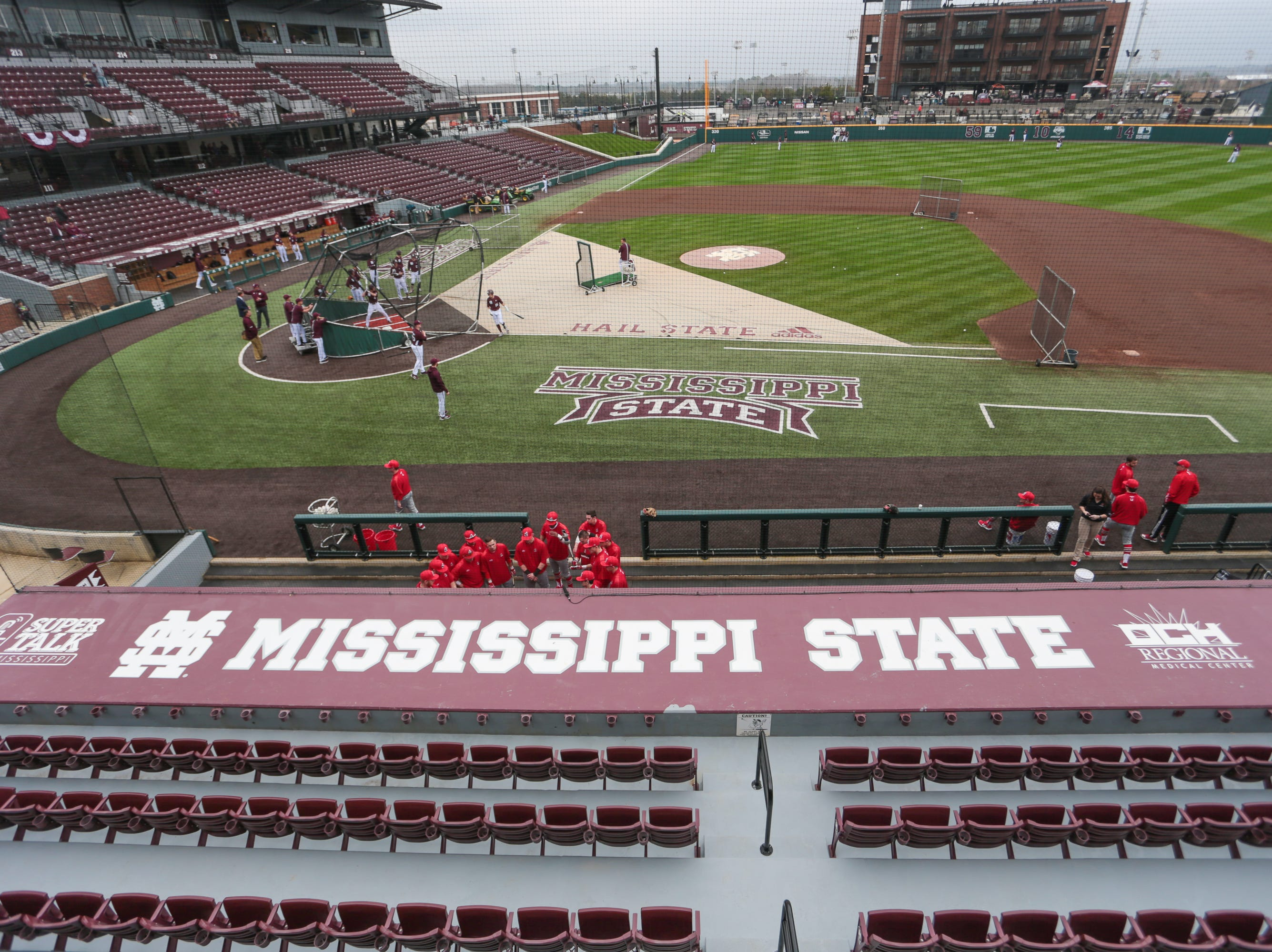 Mississippi State opened the 2019 baseball season against Youngstown State on Friday, February 15, 2019. Photo by Keith Warren