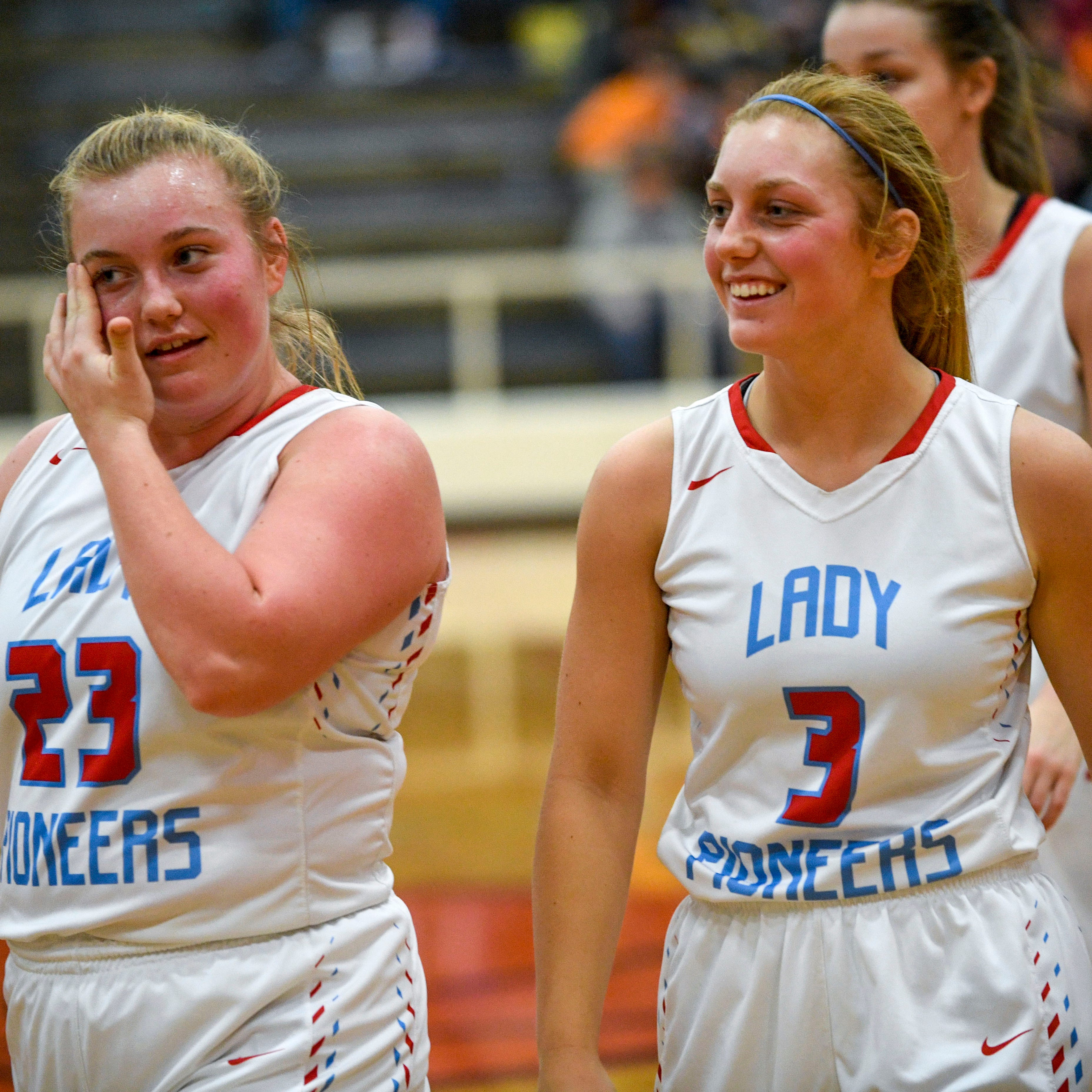 Gibson County's Neal sisters enjoy time together on and off of the court