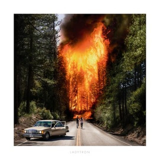The cover of Ladytron's self-titled album
