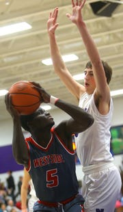 Nelson Mbongo had 9 points and 9 rebounds for West Lafayette.