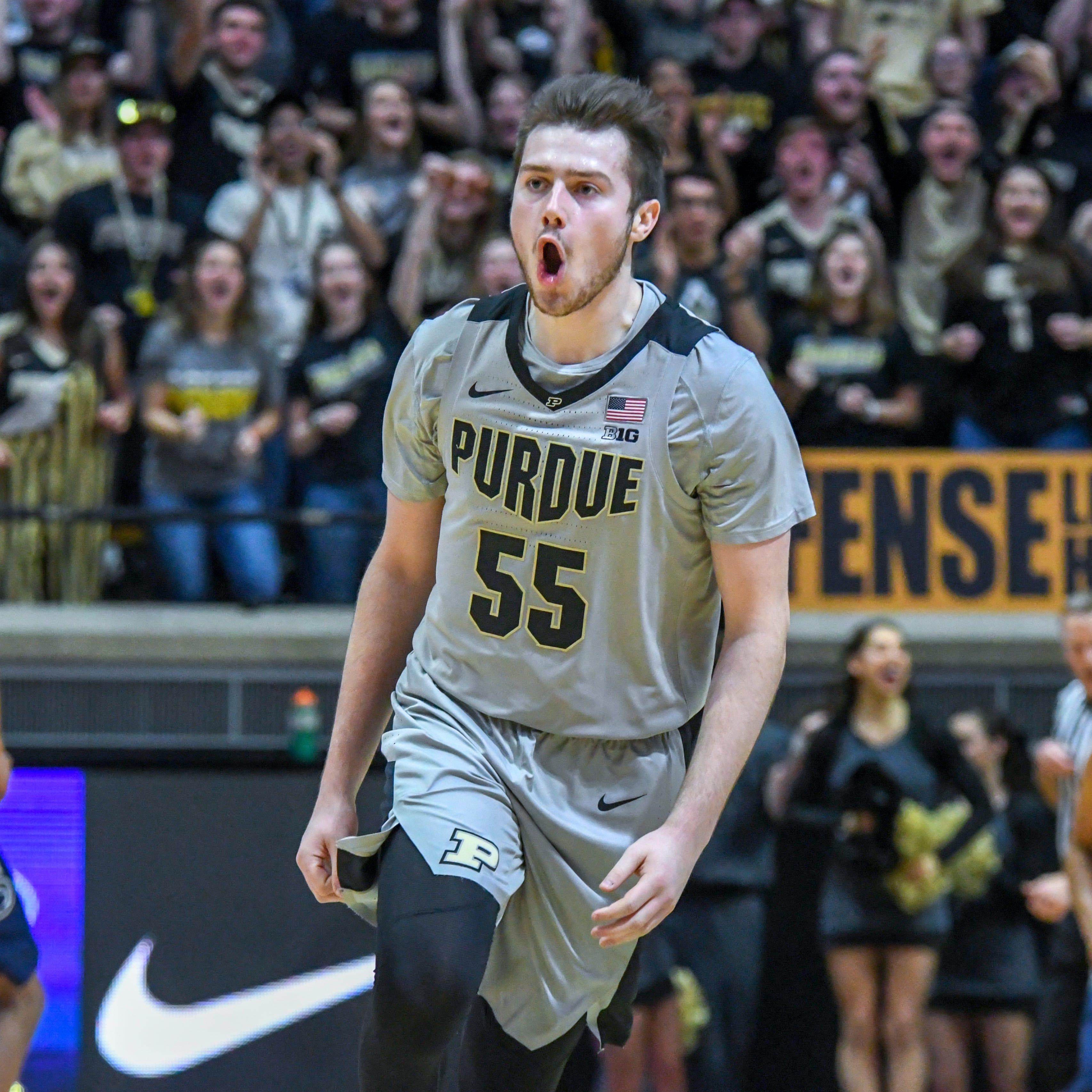 No. 12 Purdue vs. Penn State men's basketball score, video highlights