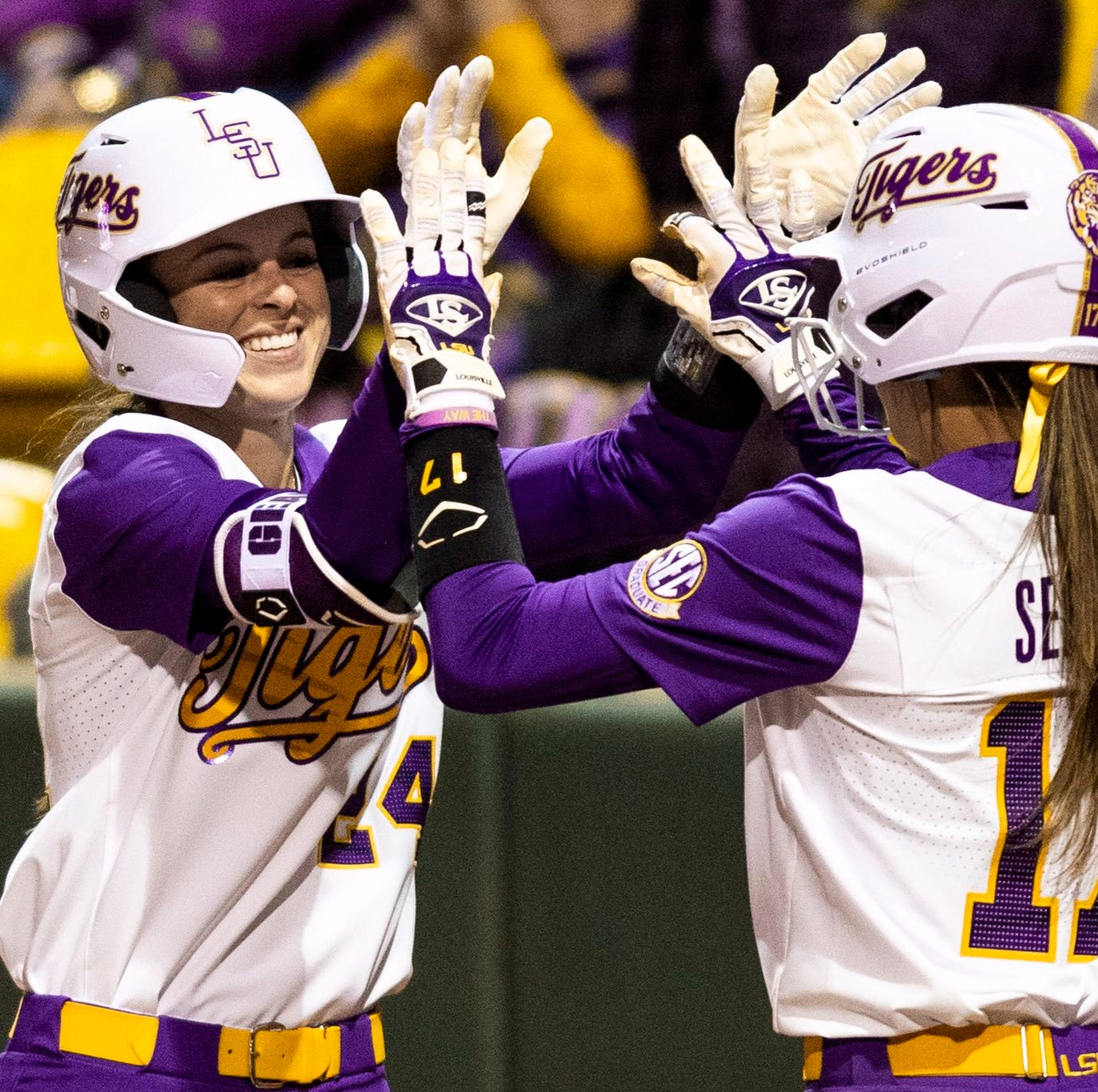 LSU softball downs Georgia 7-4 in series sweep