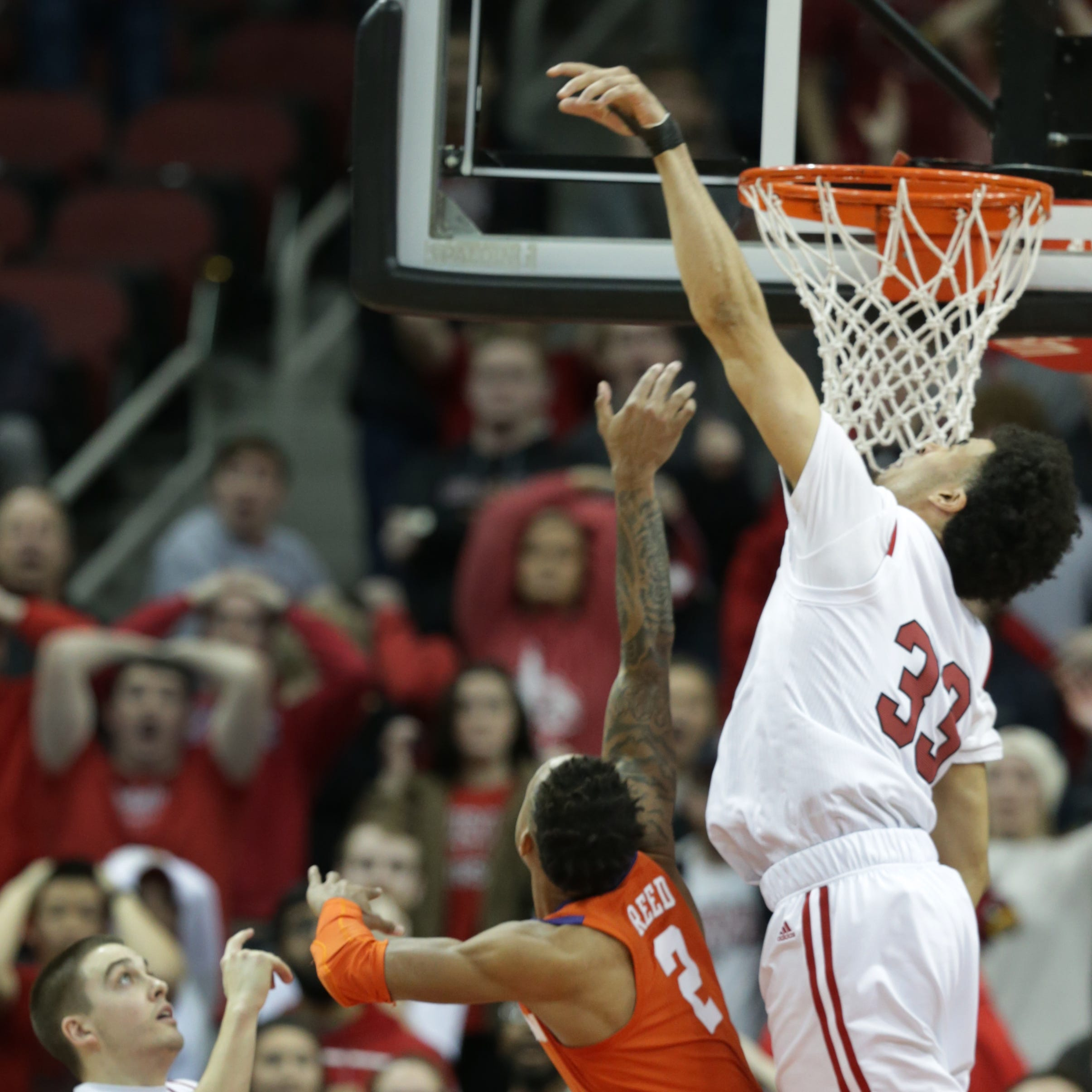 Louisville takes 'baby steps' in badly needed win over Clemson