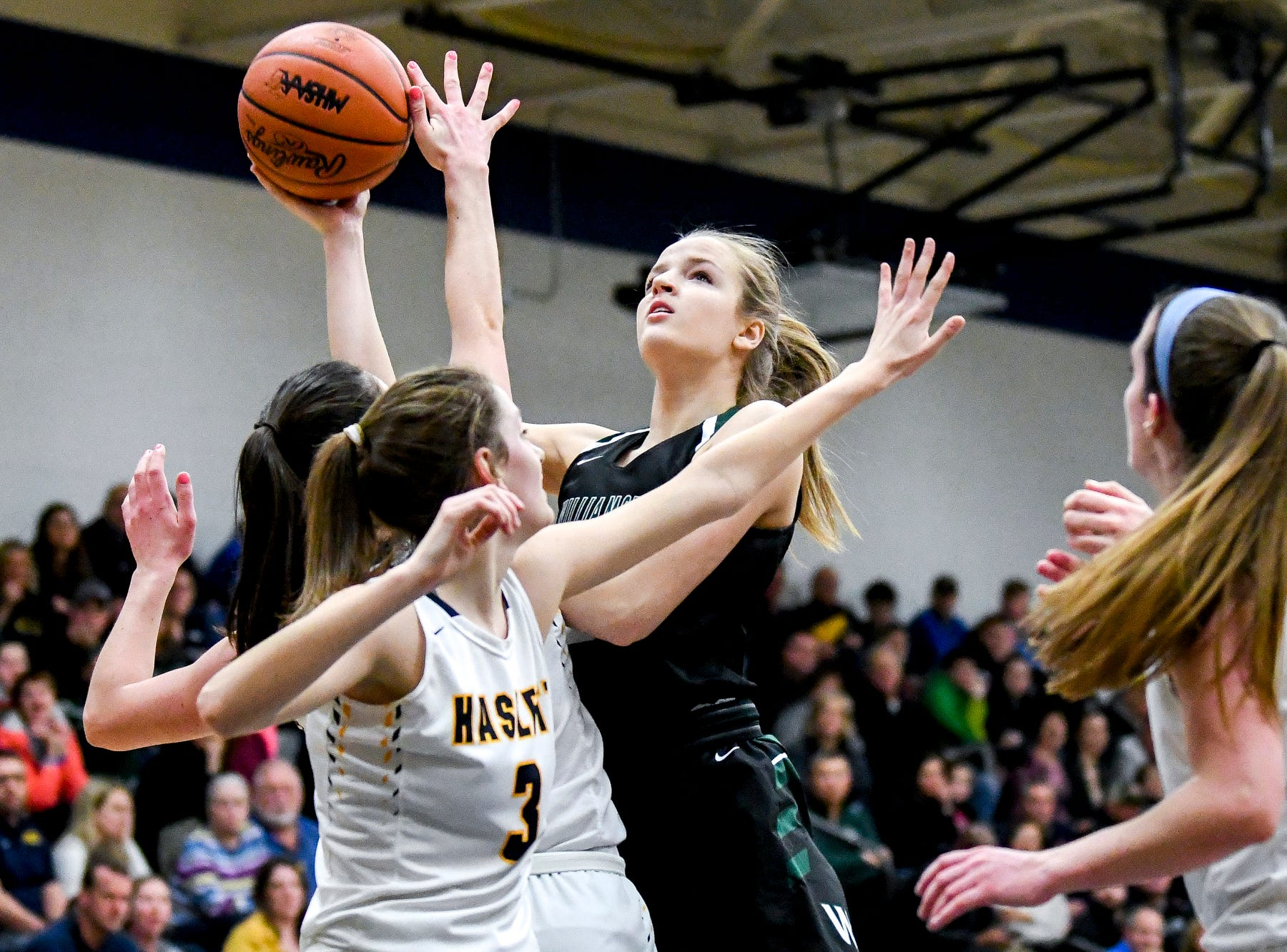 Williamston girls basketball made growth to capture latest league championship