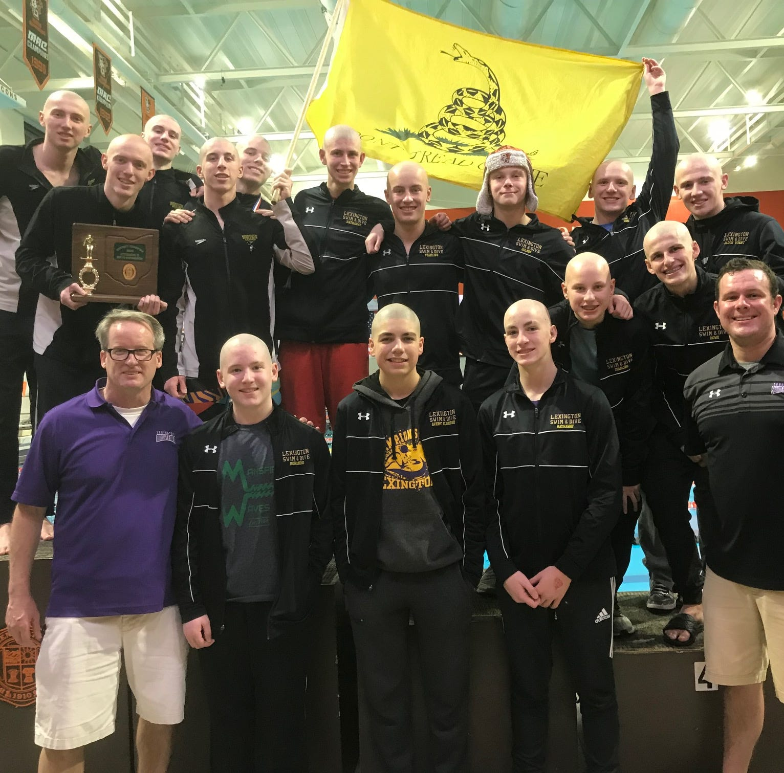 A rousing repeat: Lex sets records, makes waves for district crown