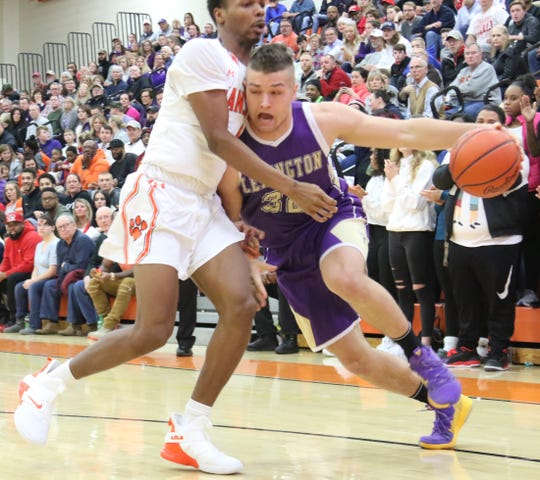 Lexington's Cade Stover led the Minutemen to a 17-5 record and a No. 2 finish in the Richland County Boys Basketball Power Poll.