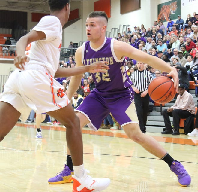 Lexington's Cade Stover has been named the 2018-19 Ohio Cardinal Conference boys basketball Player of the Year.
