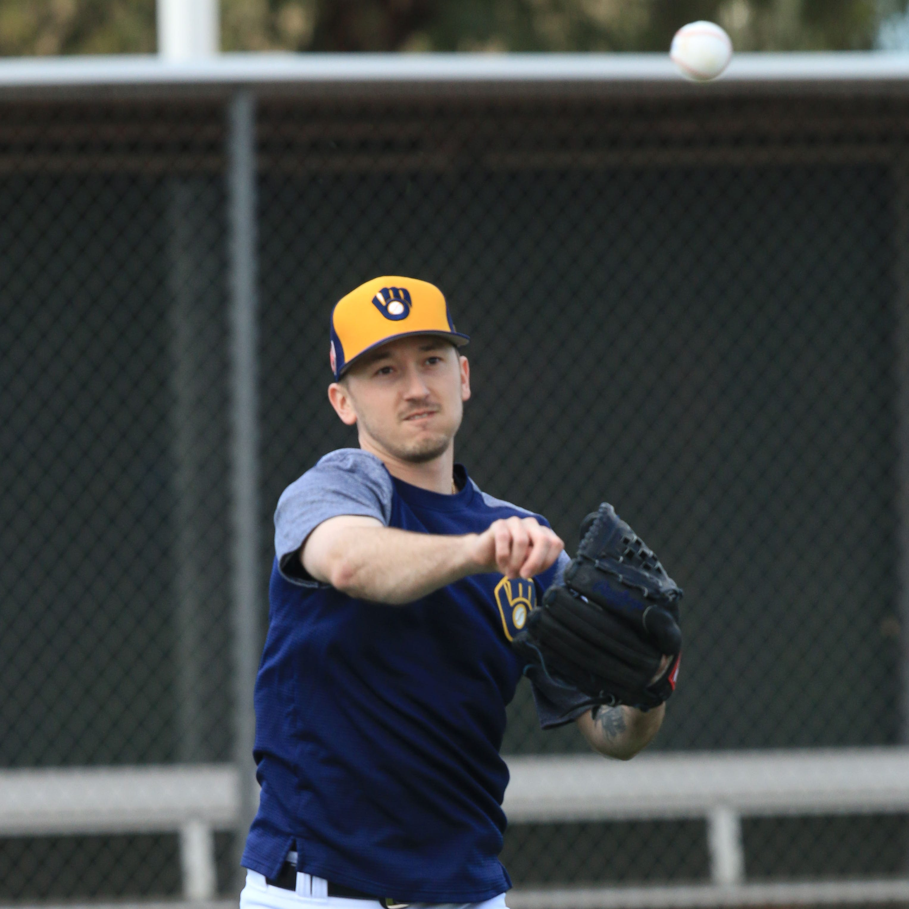 ******FOR FEB. 17 NOTEBOOK******Milwaukee Brewers...