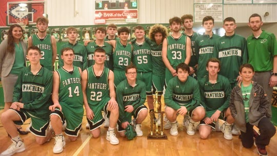 2018-19 2A-1 District runner-up Yellville-Summit Panthers