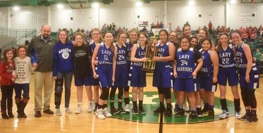 2018-19 2A-1 District champion Cotter Lady Warriors