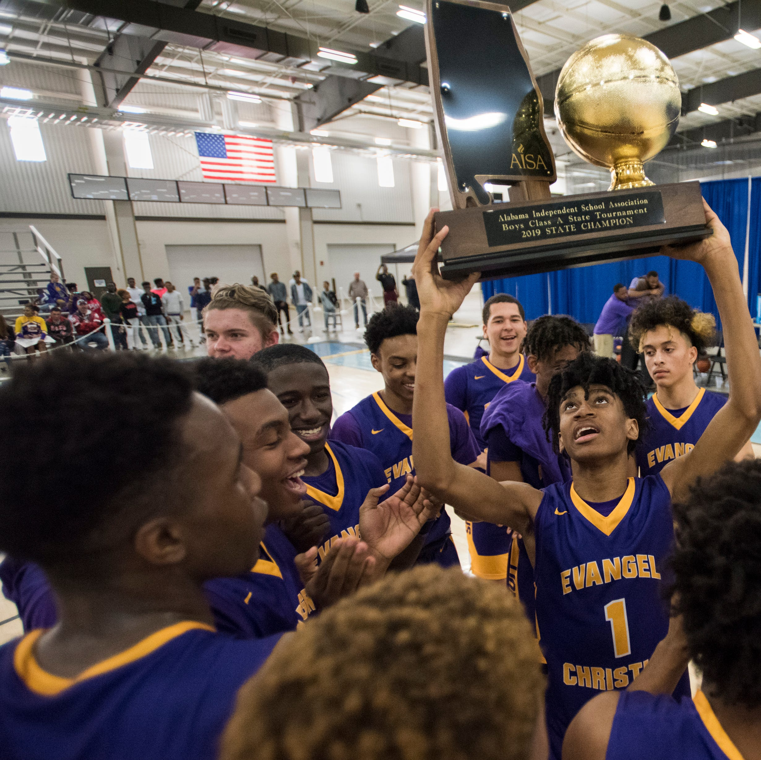 A good cry: Evangel's latest title again brings out coach's tears