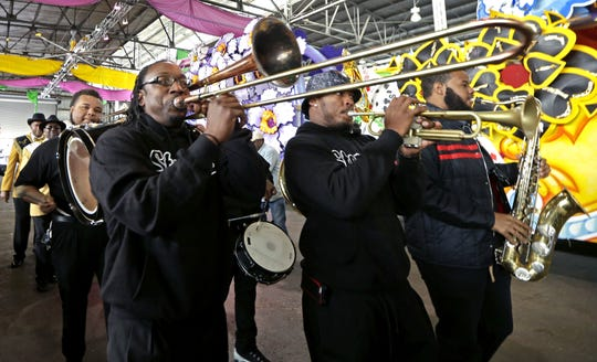 The Stooges Brass Band perform will headline at the DBA Montgomery 6th annual Mardi Gras Block Party on Saturday, Feb. 23.