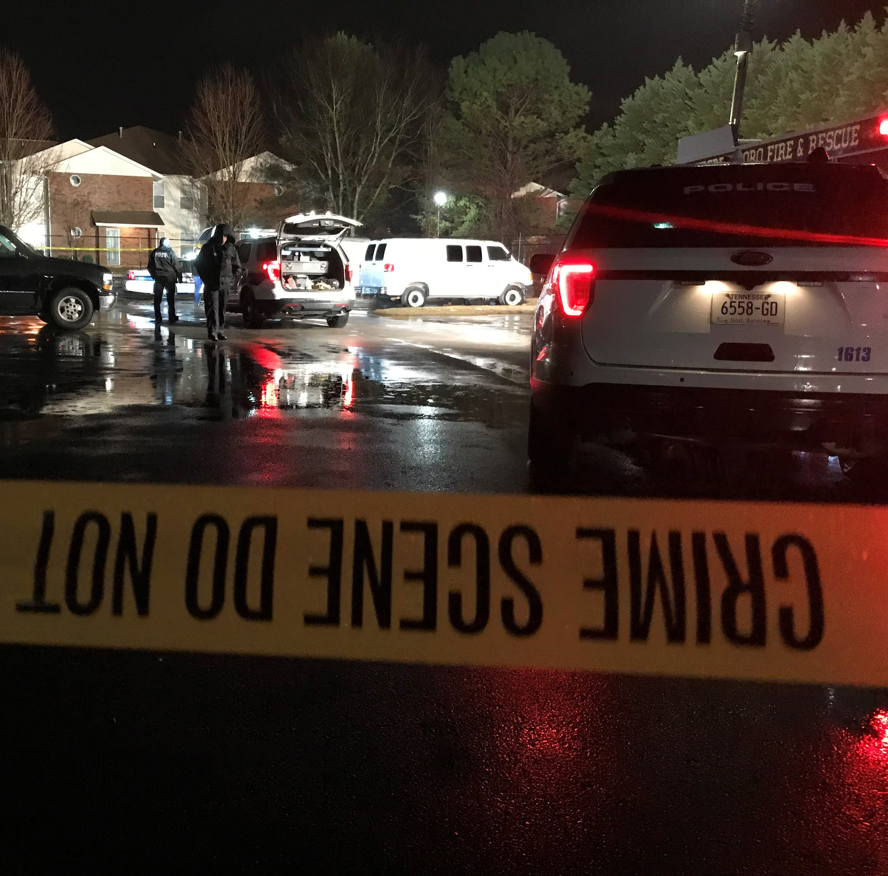 Murfreesboro police: One dead in Friday night shooting at apartment complex off Church Street