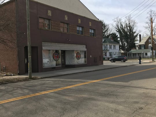 The Swank building, at the corner of Granville and Sixth streets in Newark, will be torn down to make room for the new Faith and Family Center for St. Francis de Sales Church.