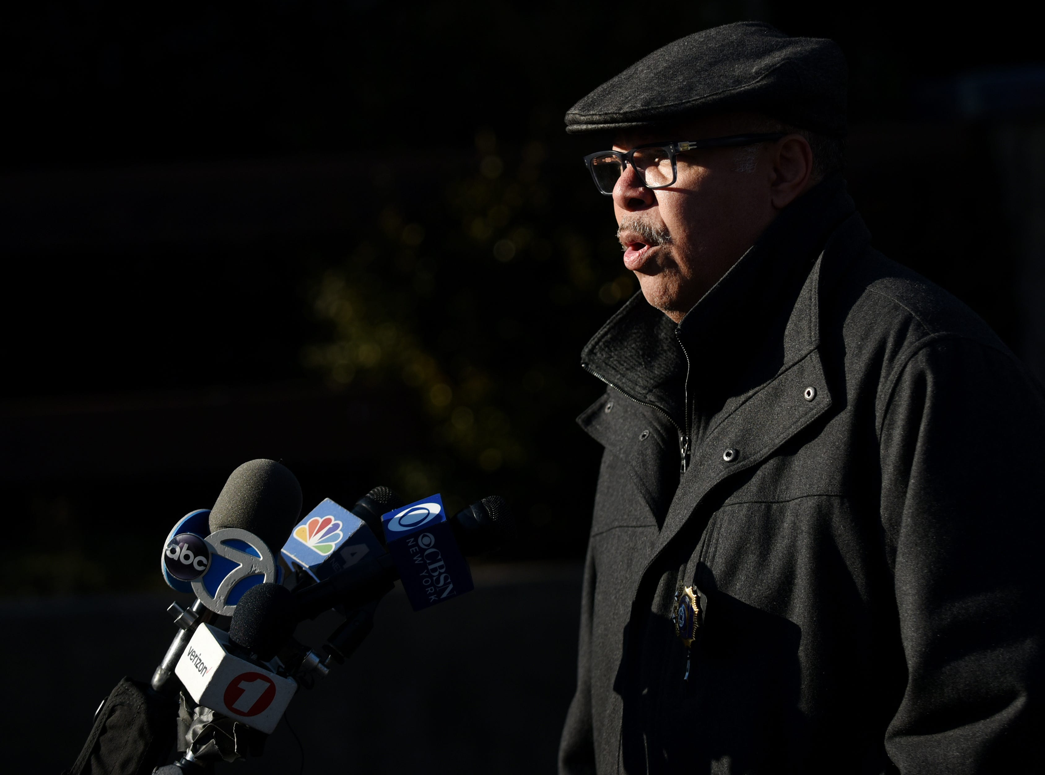 Lawrence Suffern the Englewood Chief of Police, confirms reports of a double homicide in Englewood on Saturday February 16, 2019.