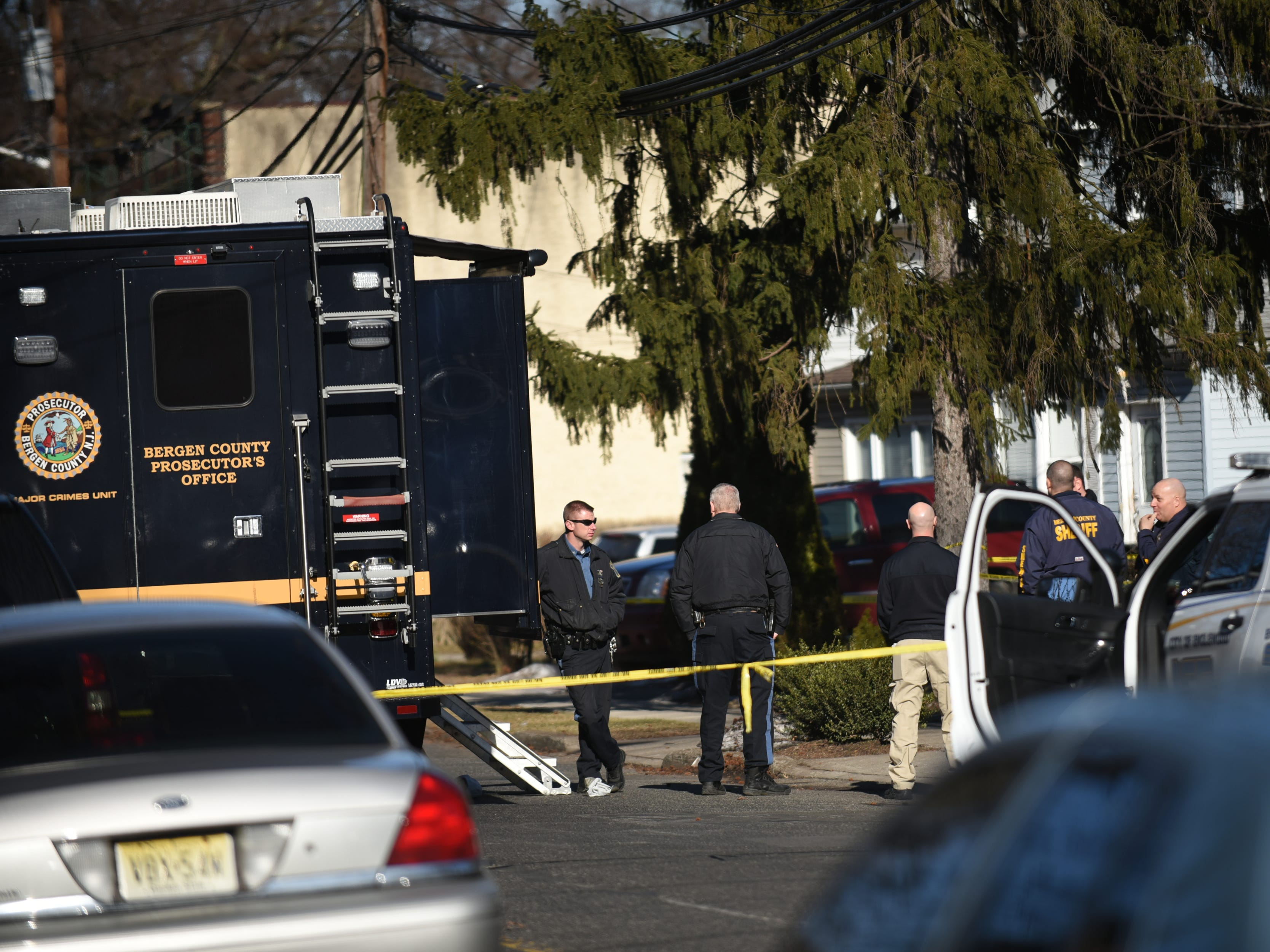 Reports of a double homicide in Englewood on Saturday February 16, 2019.