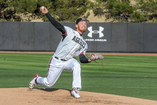 Brock Whittlesey and the New Mexico State baseball team opened the season at home with a 20-2 win over Texas Southern.