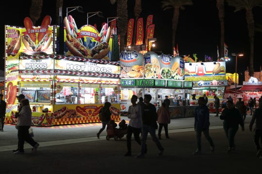 The Riverside County Fair & National Date Festival, which opened Feb. 15 — Presidents Day weekend — saw a 16 percent decline in attendance the first three days, which officials say is due to the weather.