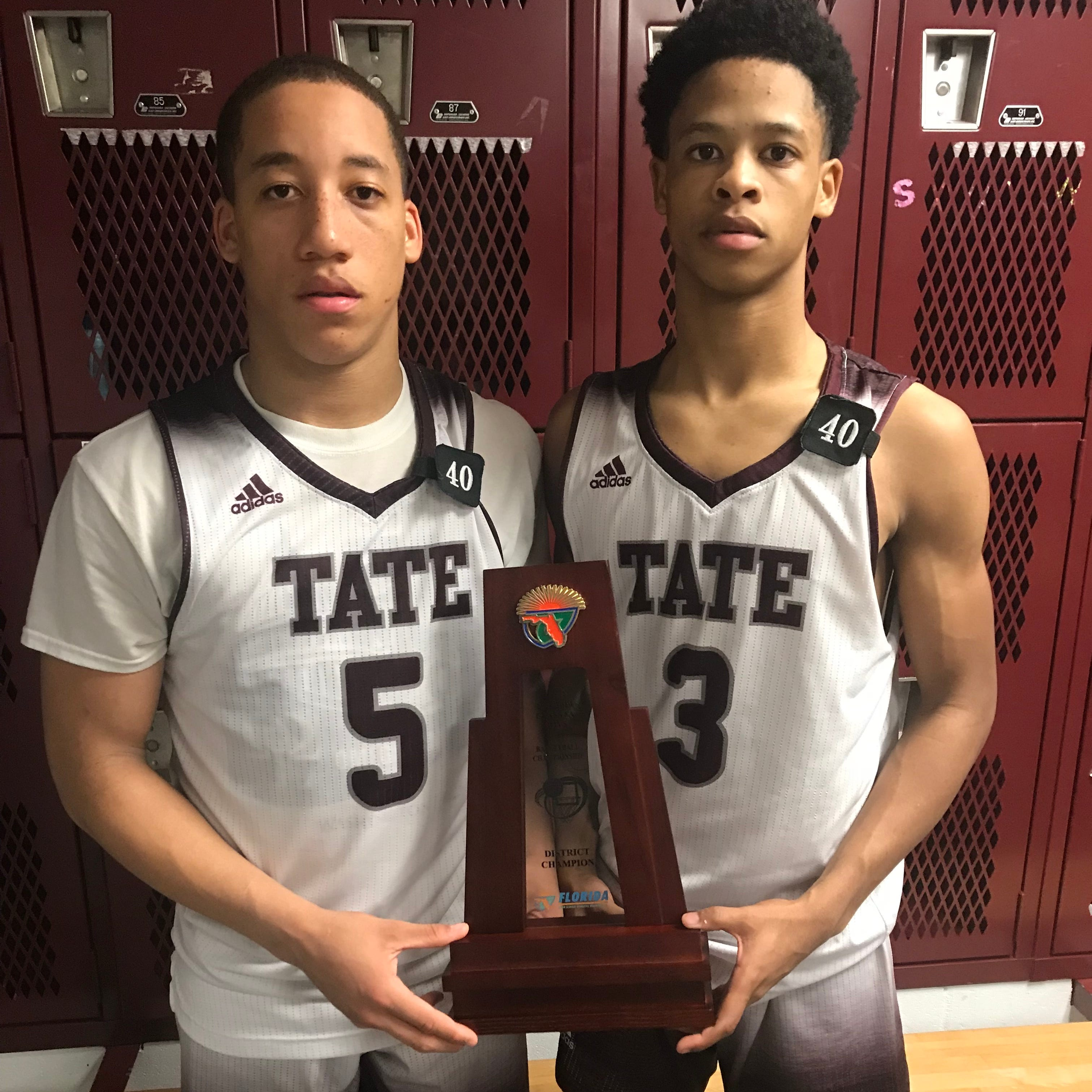 Brown, Bettis help boost Tate to first district championship since 2010