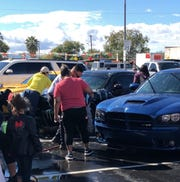A car wash was held Saturday in Phoenix to raise funds for Eric Martinez's funeral costs.