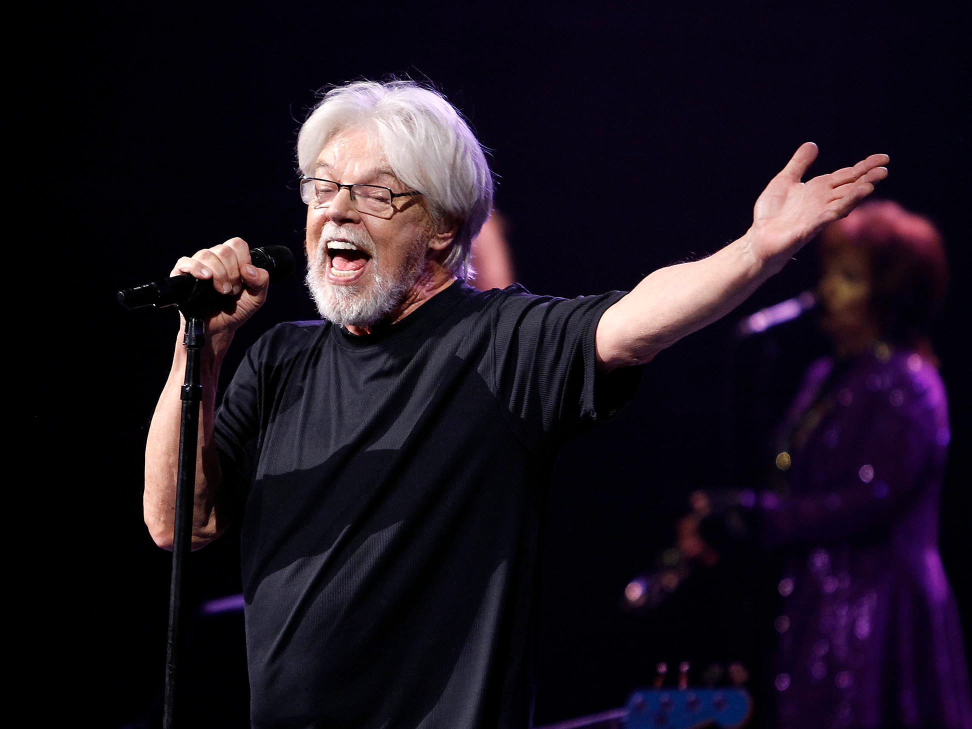 Bob Seger & The Silver Bullet Band perform during their Roll Me Away - Final Tour stop at Talking Stick Resort Arena in Phoenix on Friday, Feb. 15, 2019. (Photo by Ralph Freso for azcentral.com)