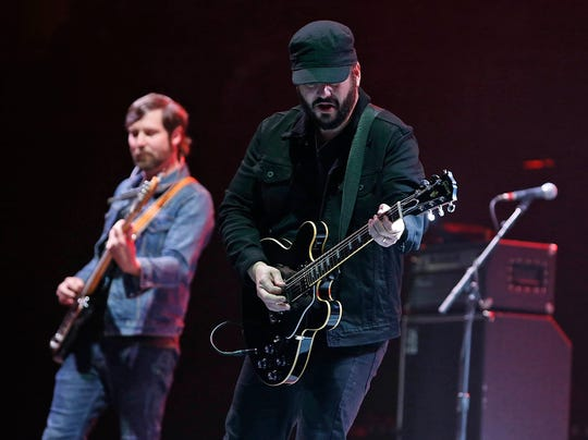 The Record Company open for Bob Seger on Friday, Feb. 15, 2019, in Phoenix.