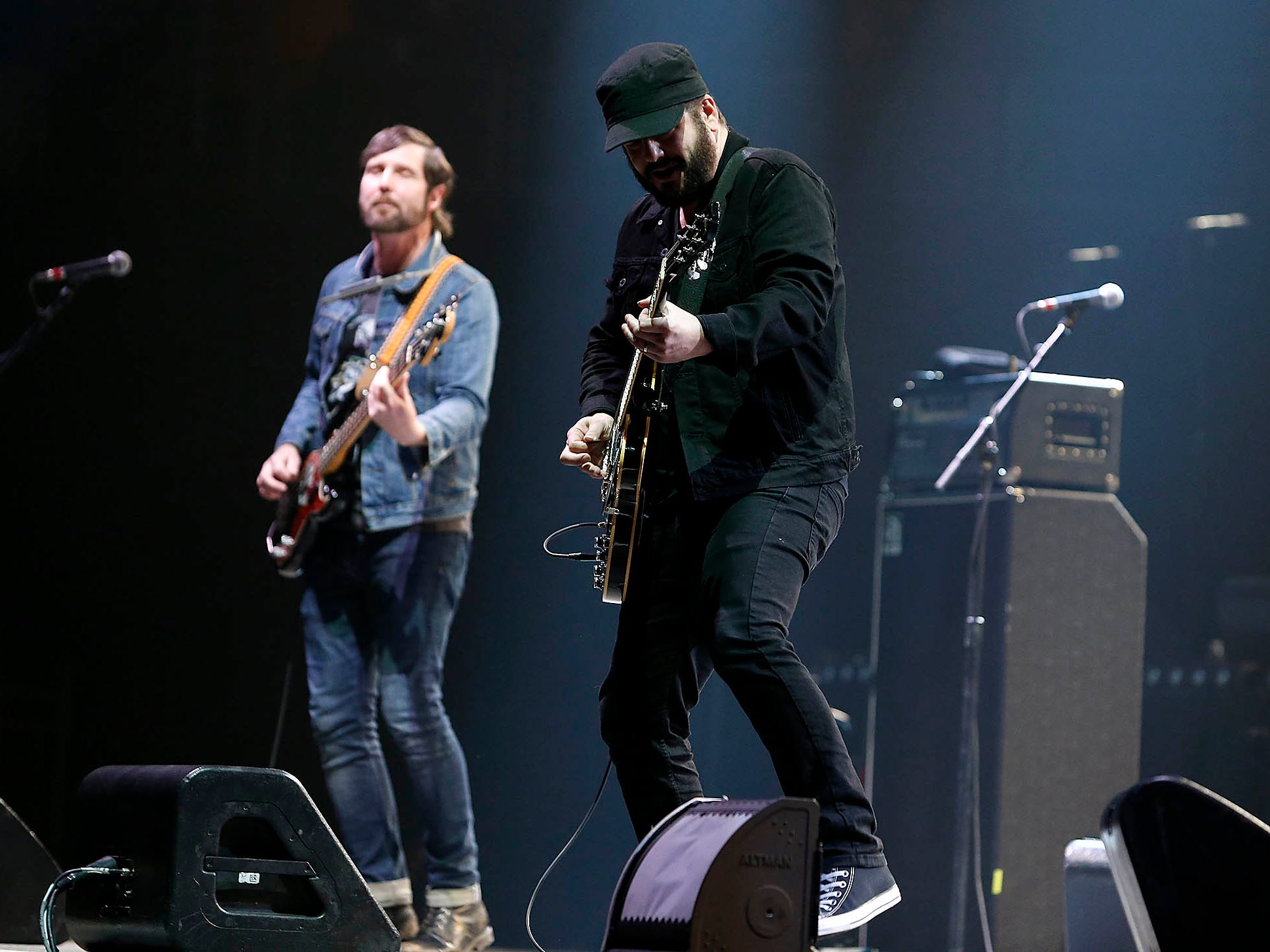 The Record Company open for Bob Seger & The Silver Bullet Band during their Roll Me Away - Final Tour stop at Talking Stick Resort Arena in Phoenix on Friday, Feb. 15, 2019. (Photo by Ralph Freso for azcentral.com)