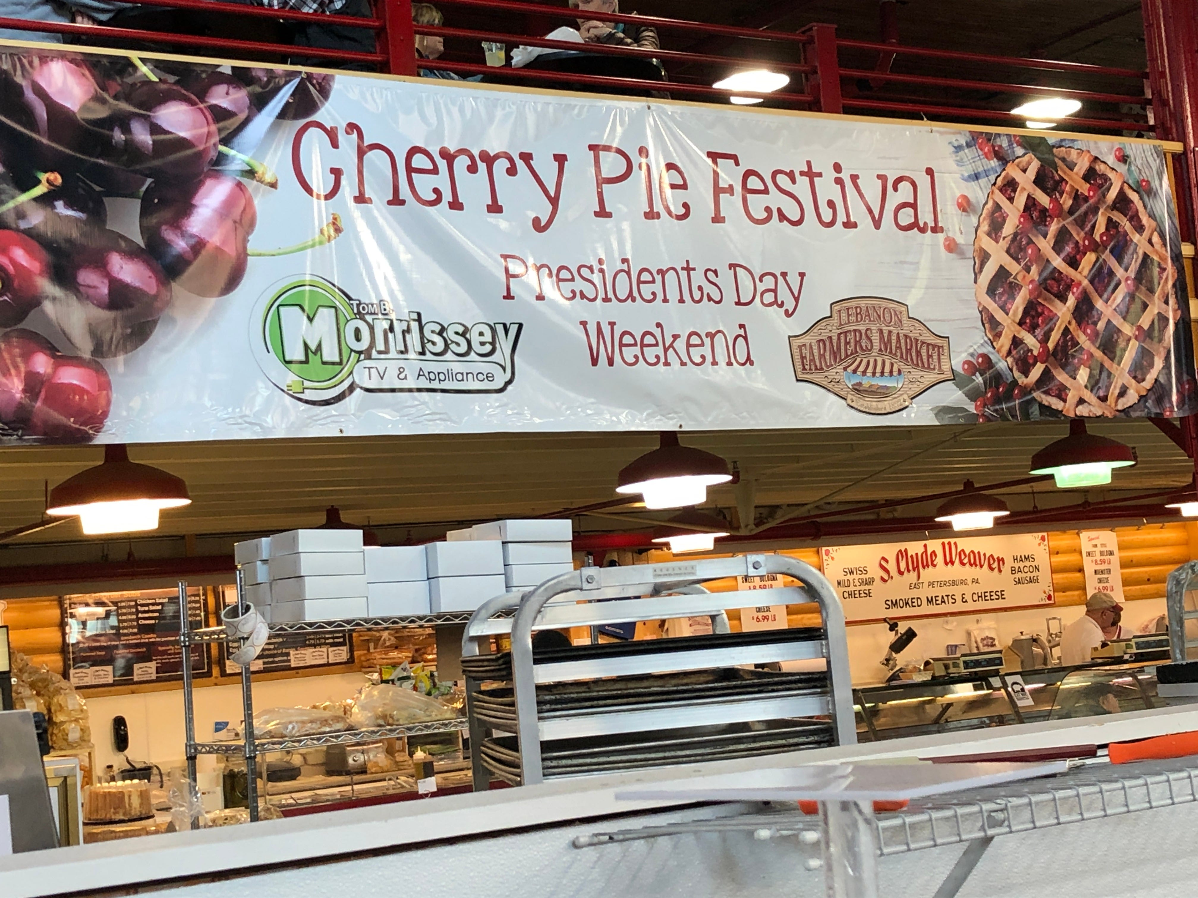 Cherry Pie Festival sponsors included the Lebanon Farmers Market, Zig's Bakery and Tom B. Morrissey TV & Appliance.