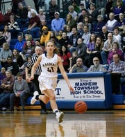 Elco's Julia Nelson scored a team-high 22 points, including 14 straight in the fourth quarter.