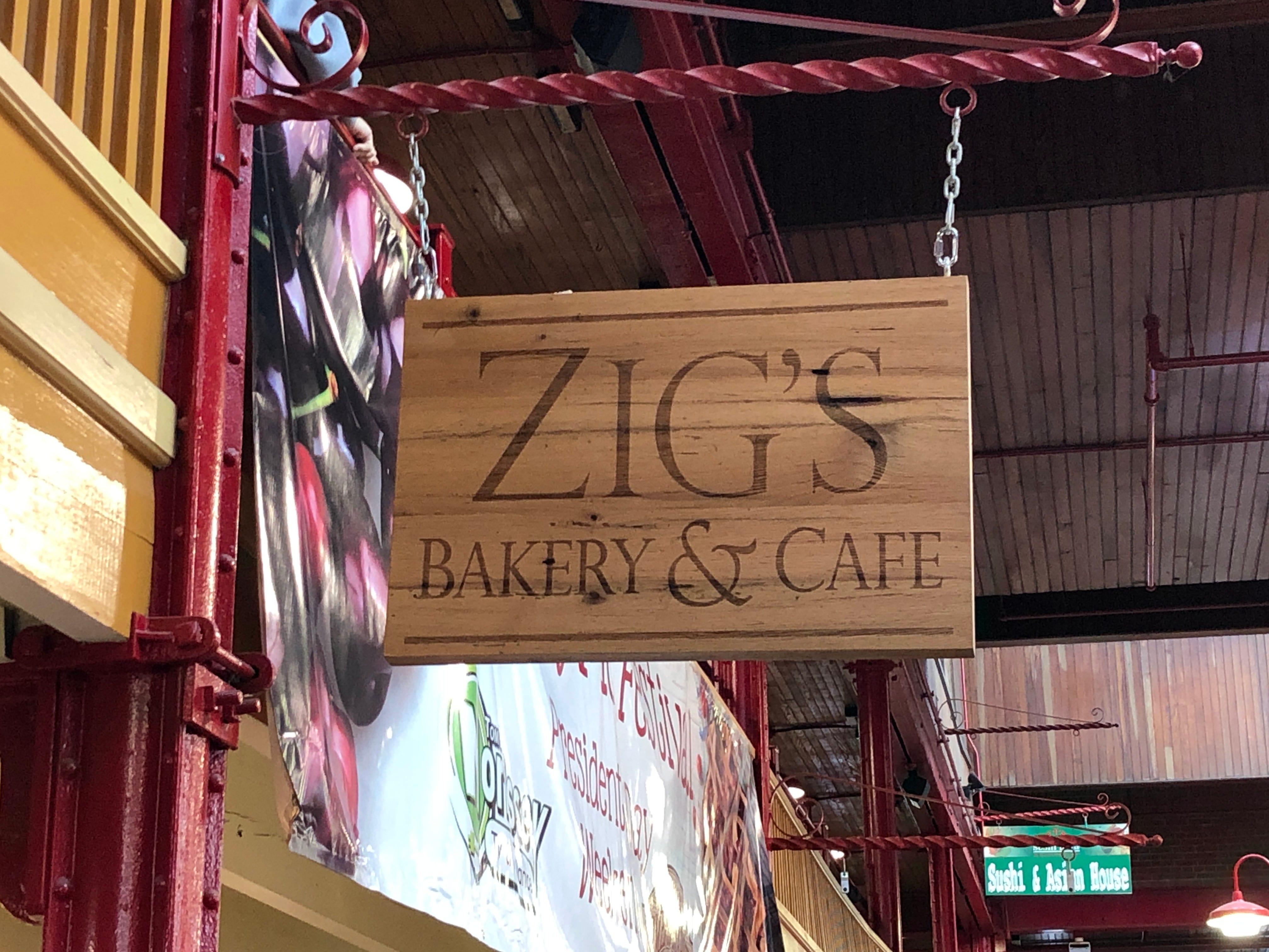 Zig's Bakery inside the Lebanon Farmers Market baked the 500 pounds of cherry pie for the Community of Lebanon Association's fundraiser.