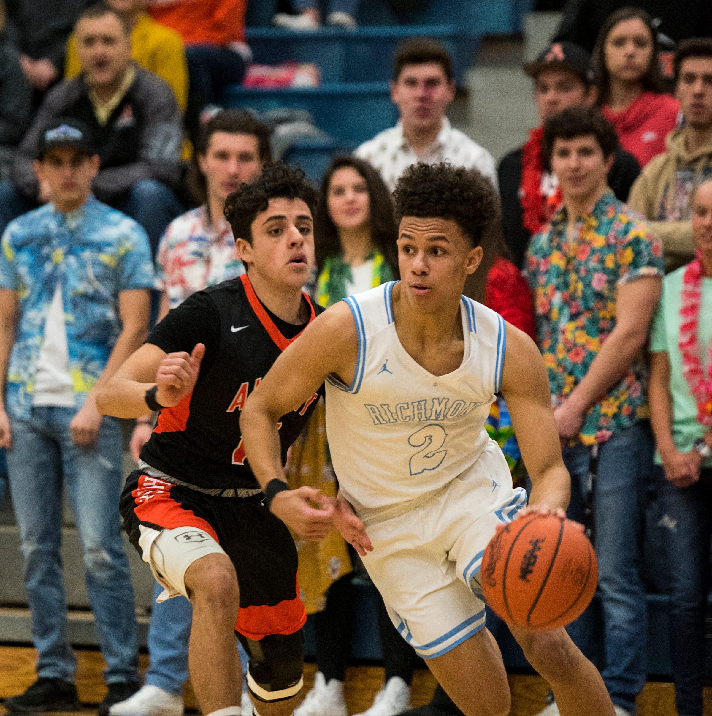 Boys Basketball Poll: New Haven, Richmond complete impressive regular seasons
