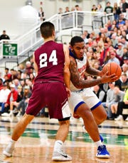 York High's Marquise McClean led the Bearcats with 14 points. Dawn J. Sagert photo