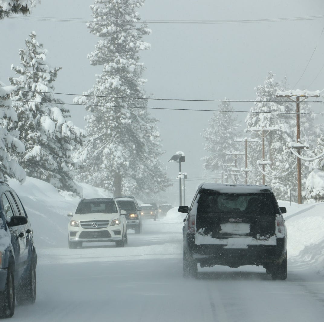 A short break from storms in Reno, but more wintry weather coming to Sierra