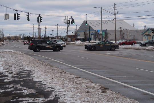 Major accident shuts down traffic on Scottsville Road near Chili.