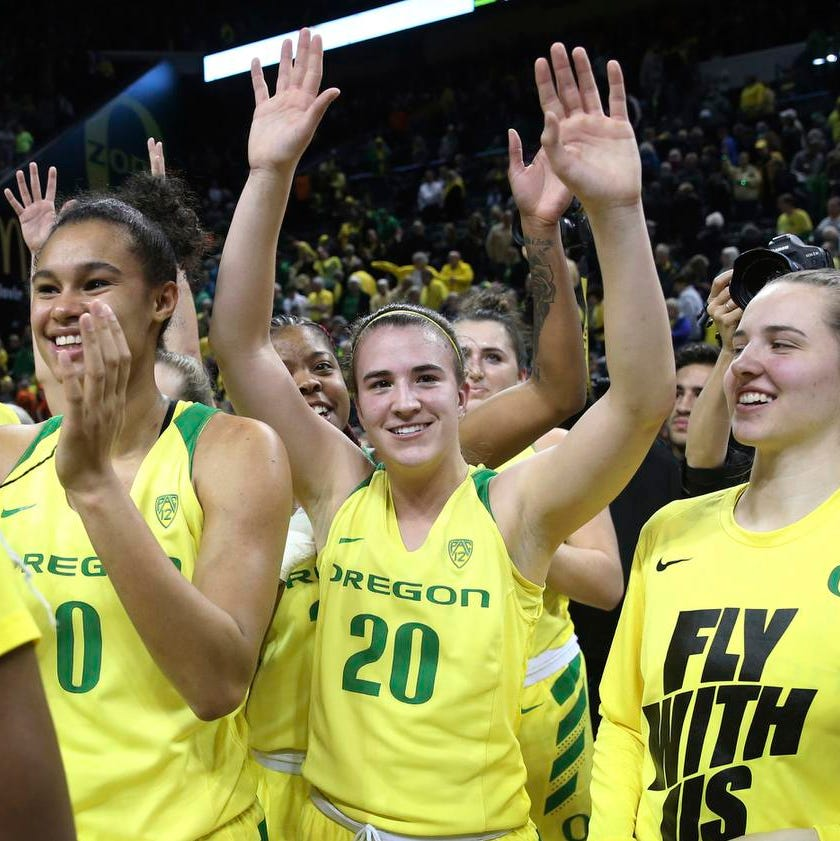 Oregon Ducks top Oregon State on huge night for women's basketball
