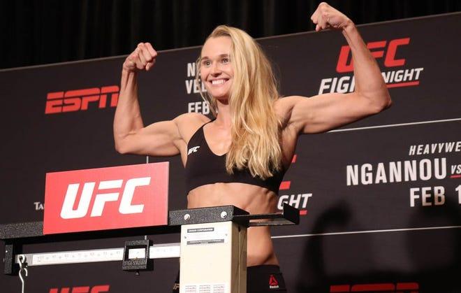 Shreveport's Andrea Lee will fight on ESPN on Sunday.