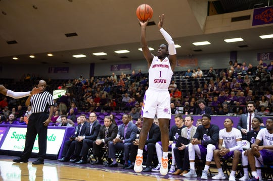 Northwestern State and LaTerrance Reed knocked off SFA on Saturday at Prather Coliseum.