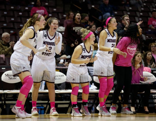 The Missouri State Lady Bears take on the Illinois State Redbirds at JQH Arena on Friday, Feb. 15, 2019.