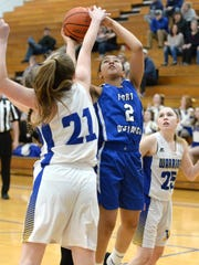 Fort Defiance's Kiersten Ransome puts up a shot against Western Albemarle Friday in the Region 3C quarterfinals.