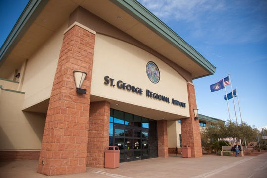 The St. George Regional Airport has slowed down operations with a few canceled flights but has mainly kept operations going — with safety measures — despite the growing outbreak of the COVID-19 coronavirus in the United States.