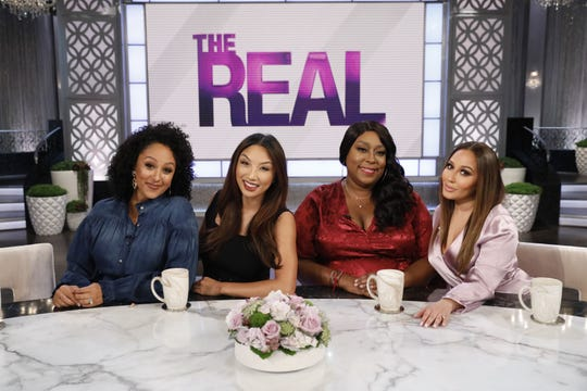 Syndicated daytime TV talk show hosts Tamera Mowry-Housley, Jeannie, Loni Love and Adrienne Houghton won the 2018 Daytime Emmy Award for Outstanding Entertainment Talk Show hosts.