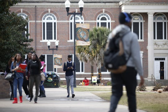 A file photo from the campus of Florida A&M University.