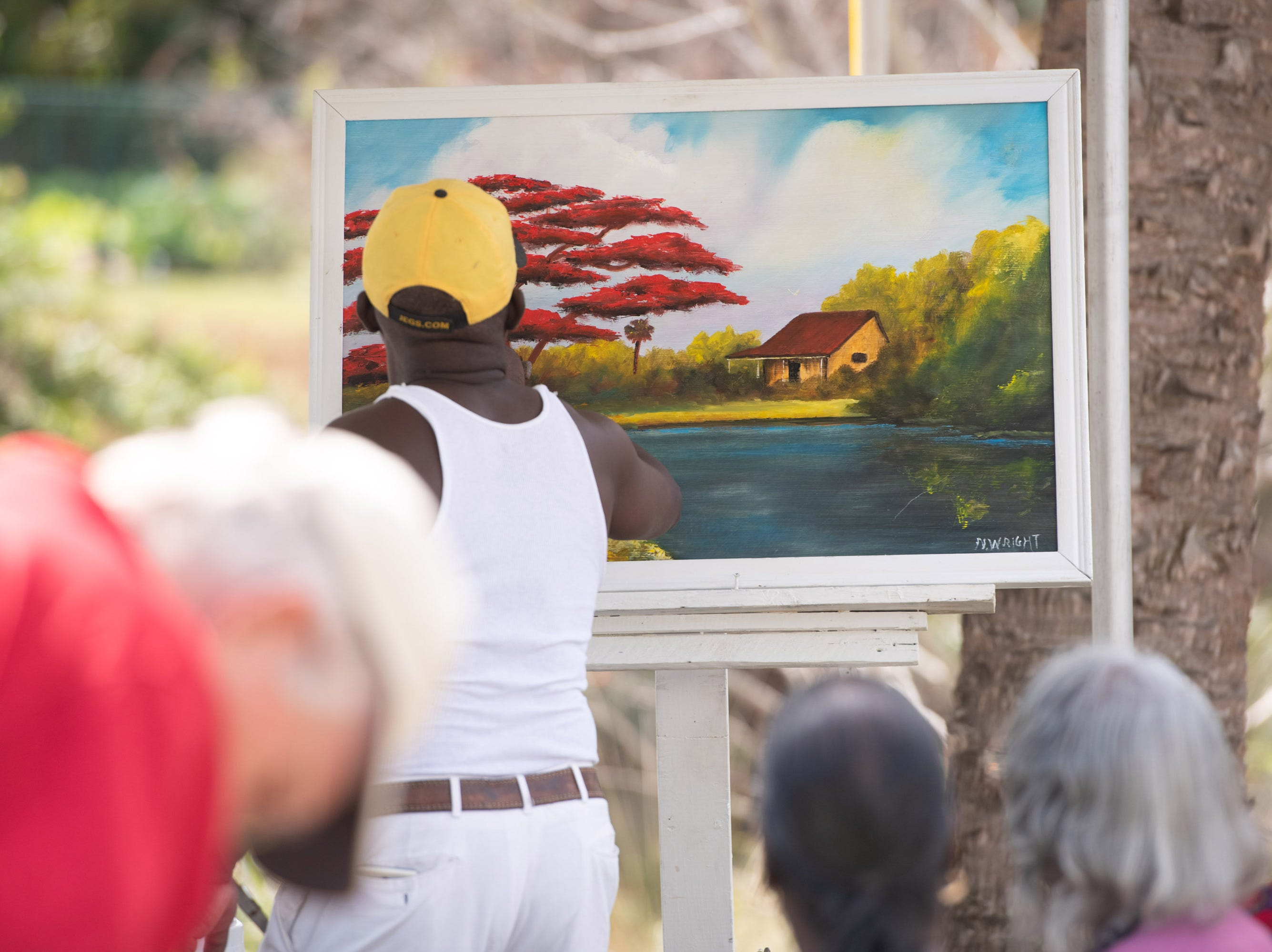 The 4th Annual Highwaymen Heritage Trail Art Show and Festival takes place at Moore's Creek Linear Park on Saturday, Feb. 16, 2019, in Fort Pierce.