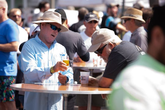 The ninth annual Florida Craft Brew & Wingfest is 11:30 a.m. to 4 p.m. Saturday at Royal Palm Pointe off Indian River Boulevard, Vero Beach.