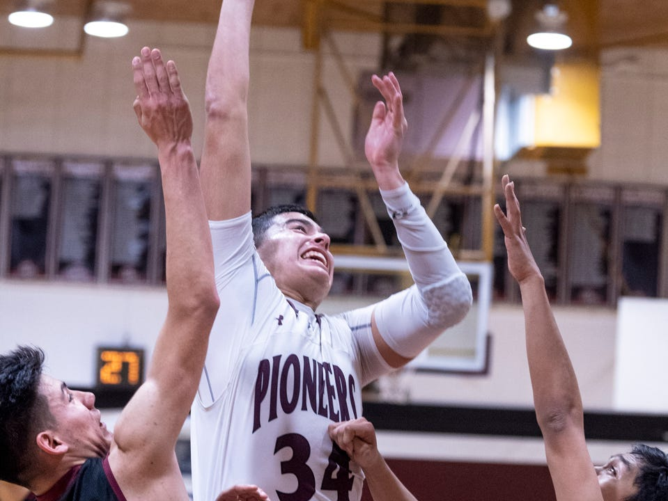 Mt. Whitney hosts Chavez in a Central Section Division III quarterfinal boys basketball game on Friday, February 15, 2019.