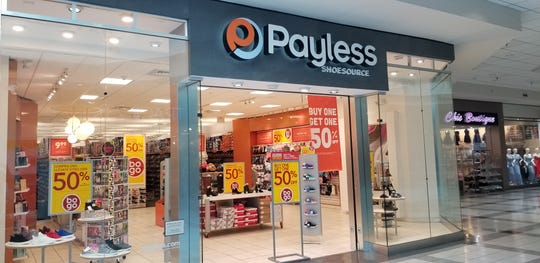 The Payless ShoeSource store in The Galleria mall in White Plains. The store is one of the 2,100 locations Payless will be shutting down in the United States.