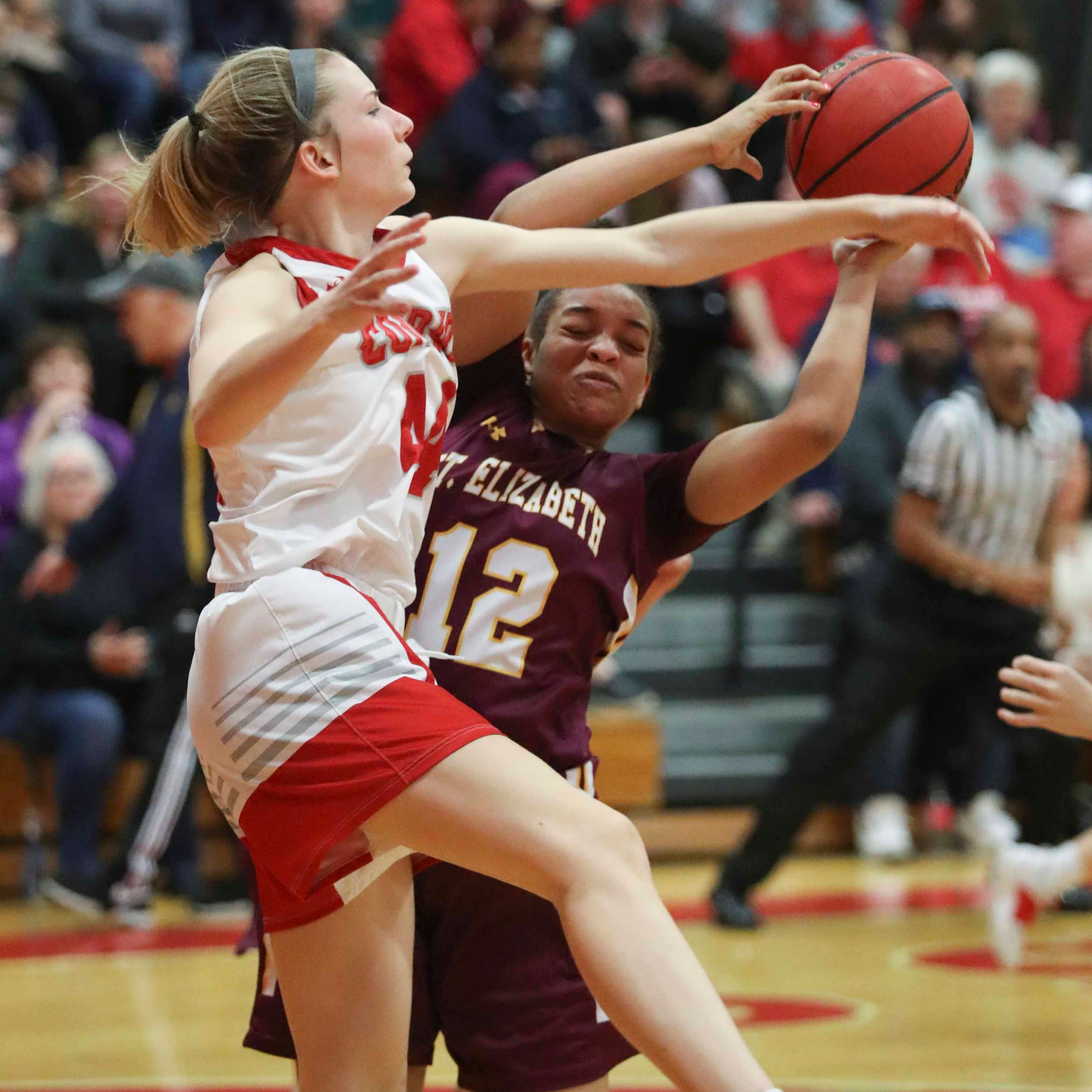 Conrad girls use balanced scoring to outshine St. Elizabeth