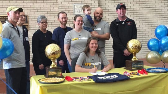 Burkburnett senior Ali Hogue signed to play tennis at Howard Payne.