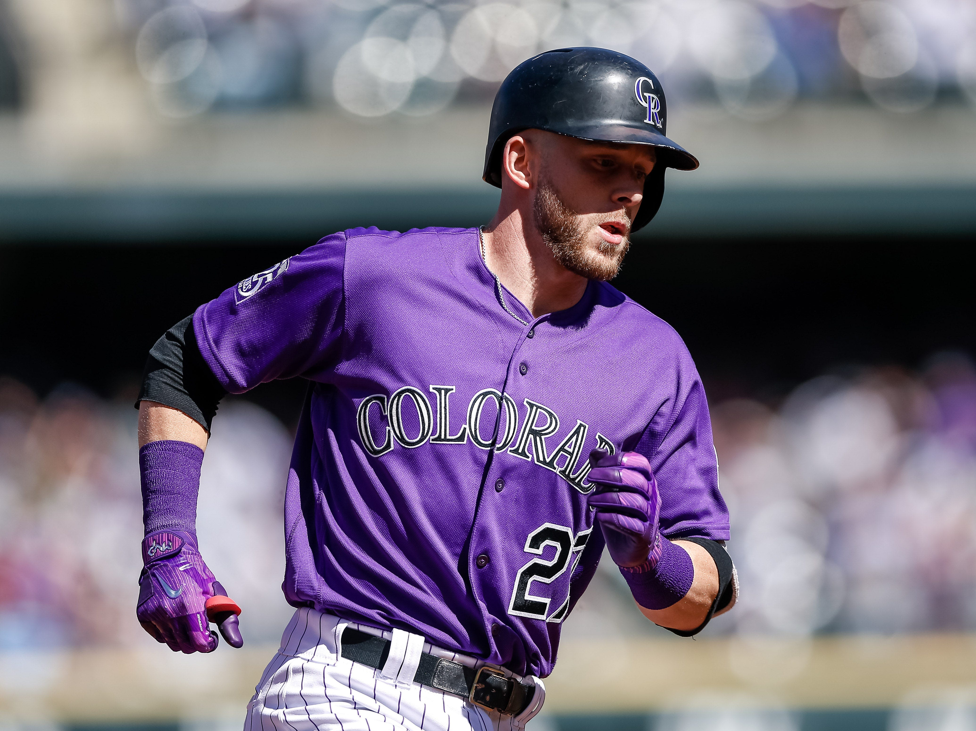 28. Trevor Story, Colorado Rockies shortstop.