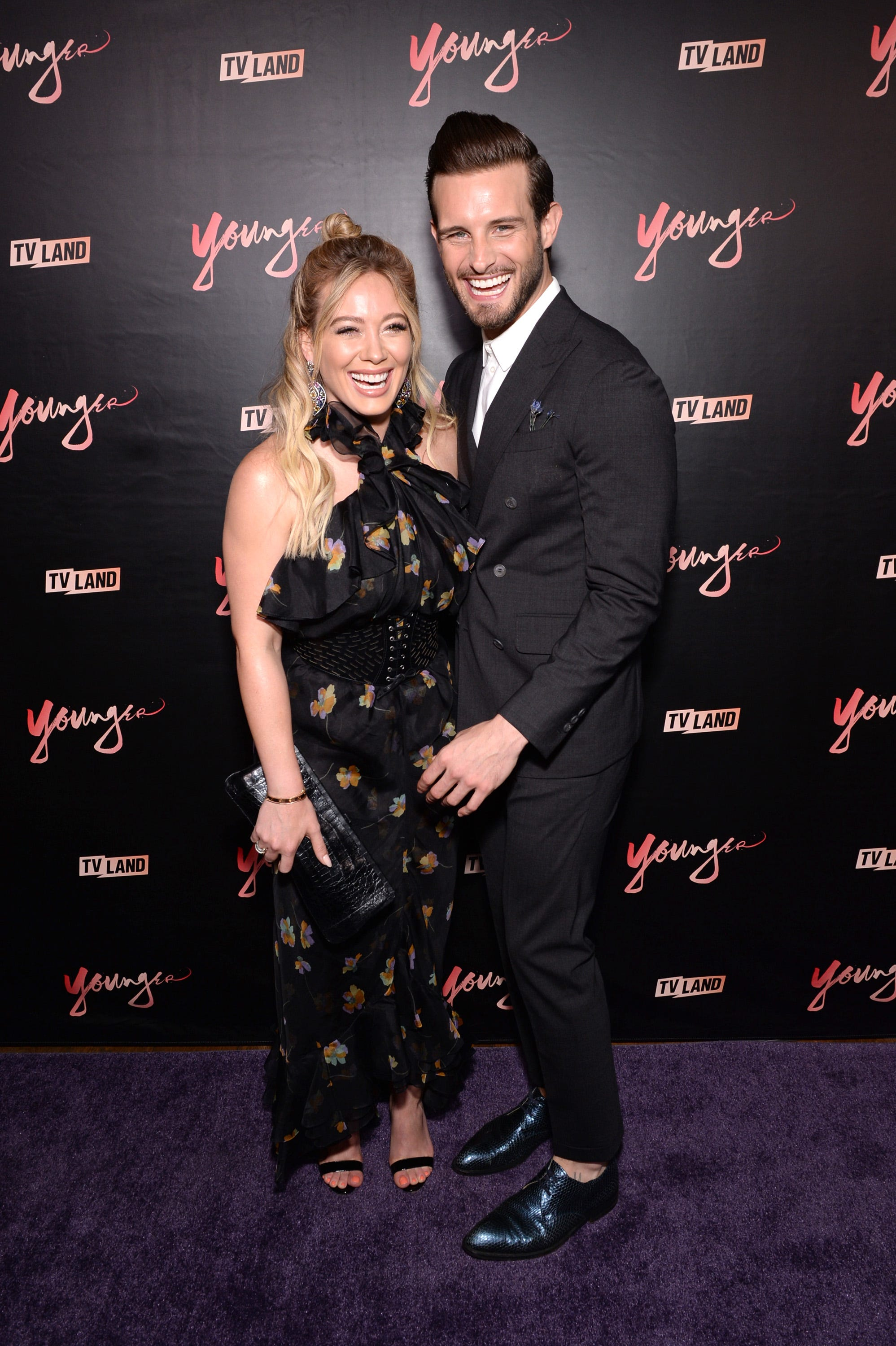 Hilary Duff's 'Younger' co-star Nico Tortorella drinks her breast milk